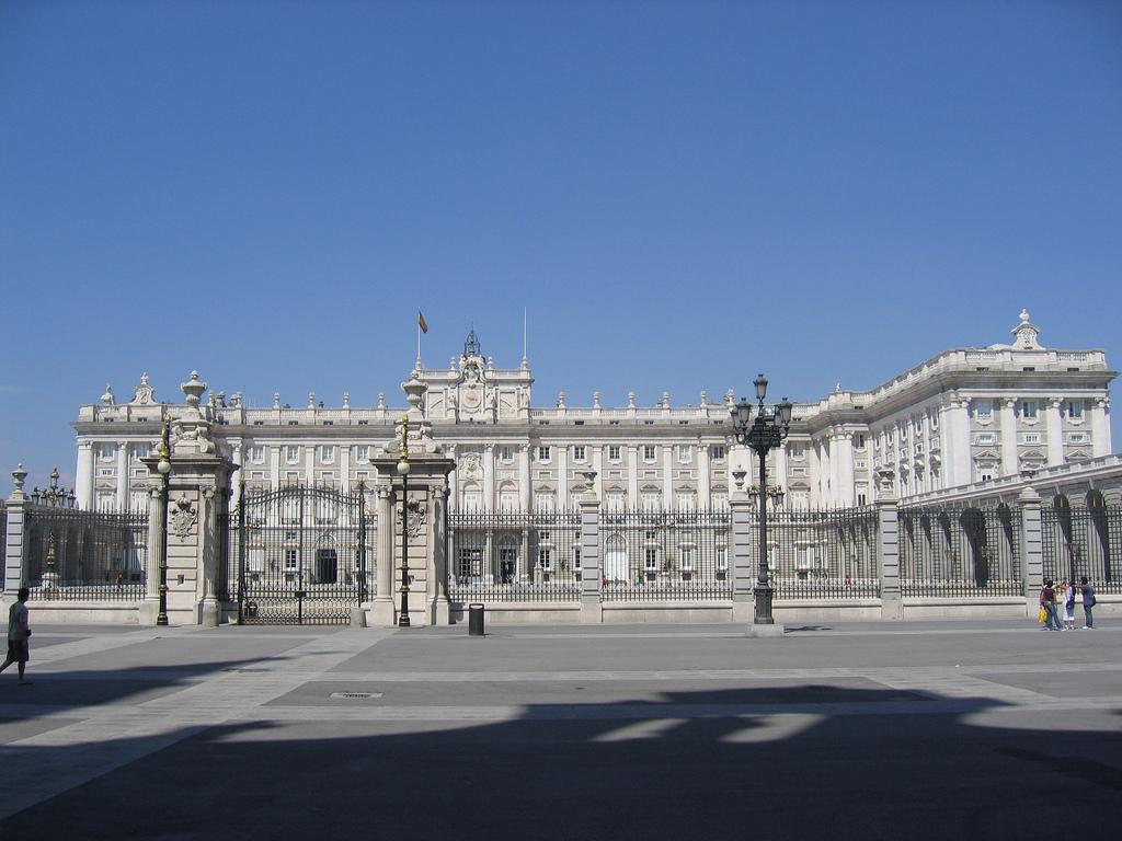 sídlo krále El Palacio Real