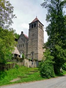Vyskeř - kostel Nanebevzetí Panny Marie