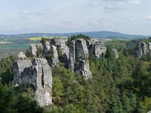 skalní město Hruboskalsko