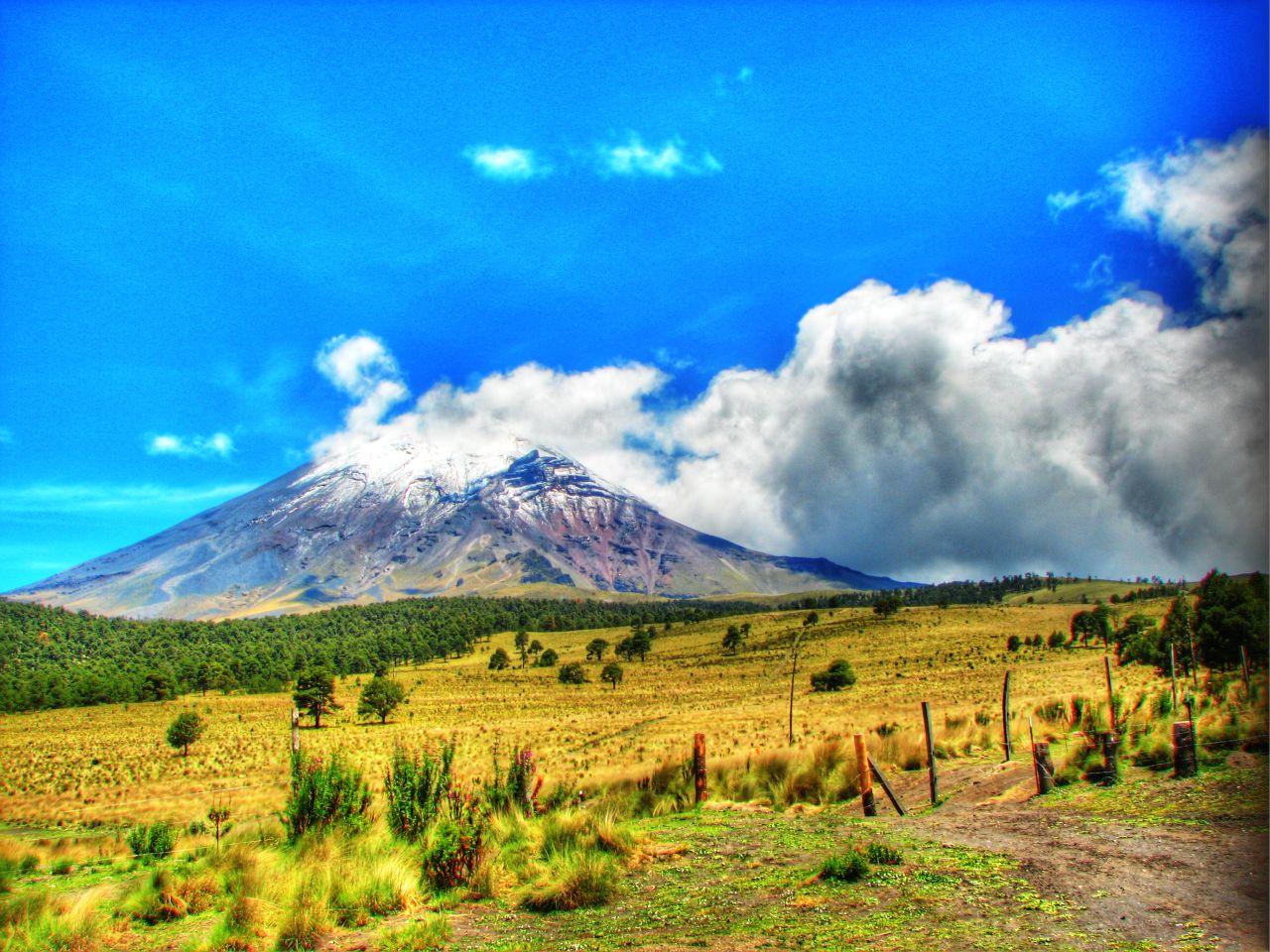 Popocatepetl - foto:  Paco Olvera Monterd