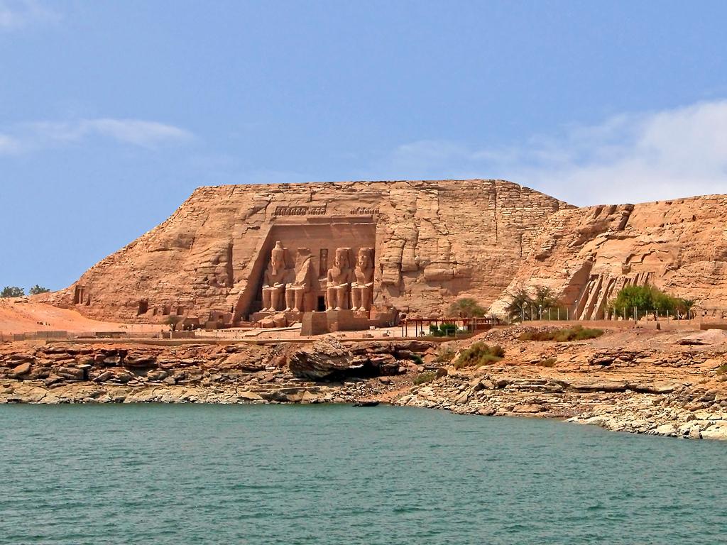 přesun chrámu Abú Simbel při jeho záchraně