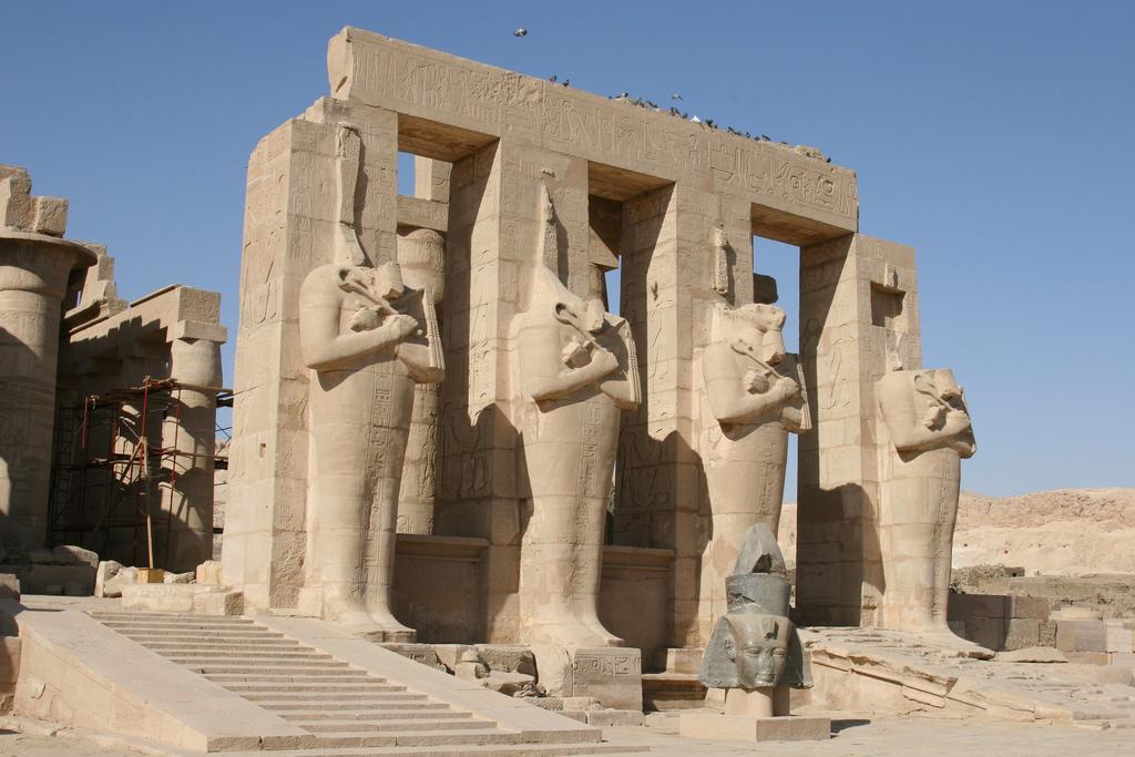 Ramesseum - foto: Chris Brown