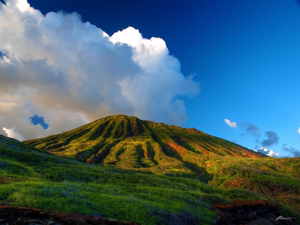 sopka na ostrově Oahu, Havaj - foto:  paul bica