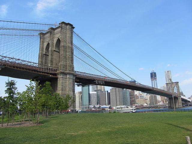 Brooklyn Bridge - foto: Sue Waters