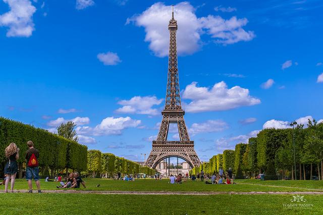 Eifellova věž - (foto: Tommie Hansen )