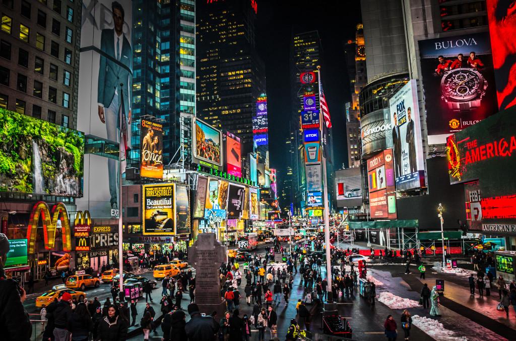Times Square, NYC - foto:  MK Feeney