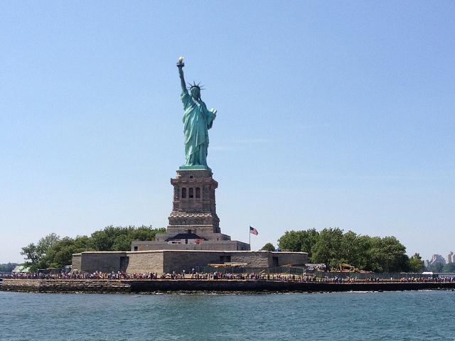 Socha Svobody, (Statue of Liberty ) - foto:Sue Waters