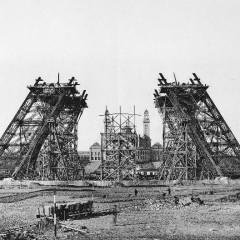 Eiffelova věž – výstavba 1