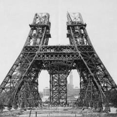 Eiffelova věž – výstavba 3