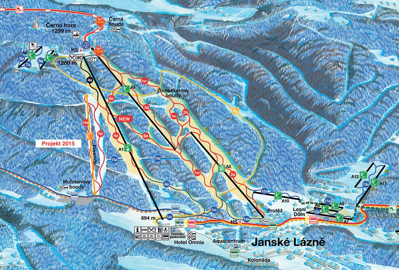 Černá Hora - Jánské lázně