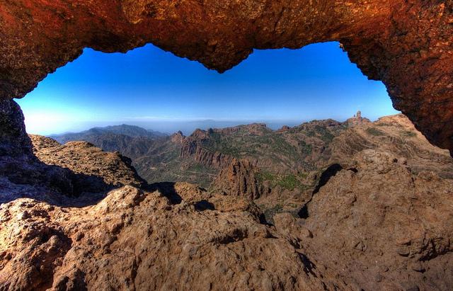 Ruta La Ventana del Nublo , la Agujereada.Gran Canaria