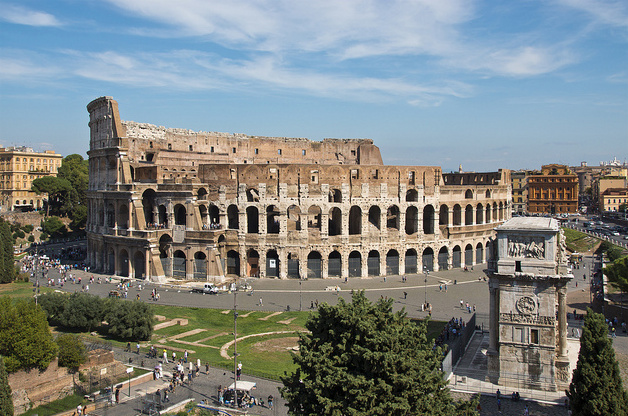 Řím, Koloseum - Foto:  Bert Kaufmann