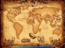 Cesta kolem světa - plán cesty