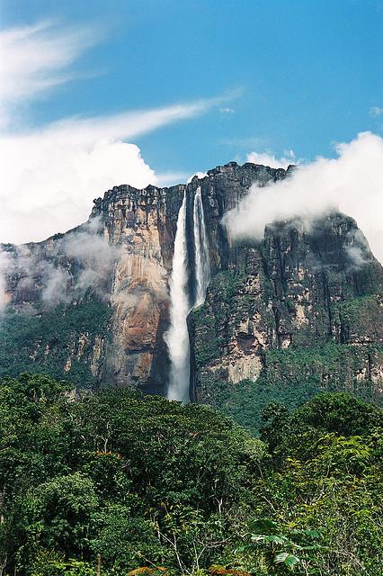 vodopád Angel Falls