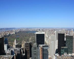 pohled na Central park