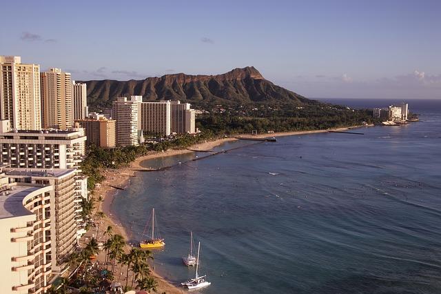 Hawaj, Honolulu - WAIKIKI BEACH