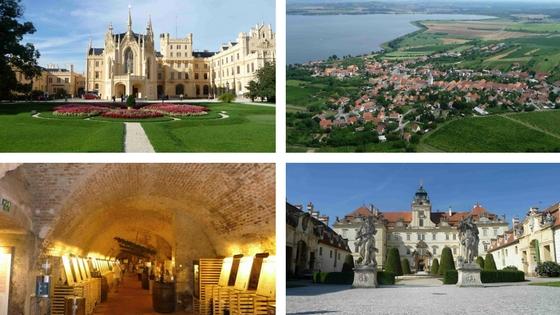 Lednice, Valtice a Pavlov, dovolená na Jižní Moravě