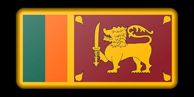 Vlajka - Srí Lanka