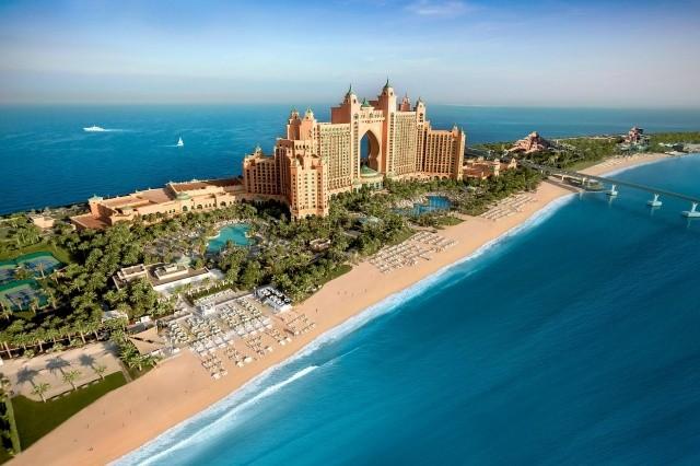 Spojené arabské emiráty, Dubai, The Palm Jumeira - hotel Atlantis The Palm