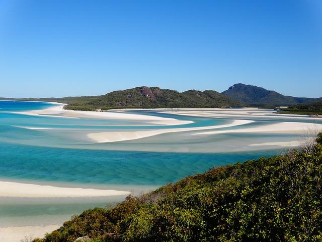 Whitehaven Beach - Austrálie